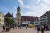 Bratislava, Slovakia Town Square.