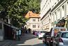 Street markets in the Jewish Quarter in Prague, Czech Republic.
