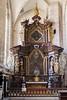 Inside Saint Barbara's Church in Kutna Hora, Czech Republic.