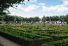 Rosegarten der Neuen Residenz Bamberg.