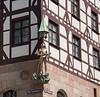 Building decoration in Nuremberg, Germany.