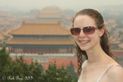 Emily and the Forbidden City from Jingshan Park - Beijing, China ... May 31, 2014 ... Photo by Rob Page III