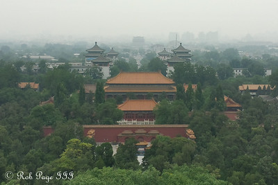 Looking north from the Jingshan Park - Beijing, China ... May 31, 2014 ... Photo by Rob Page III