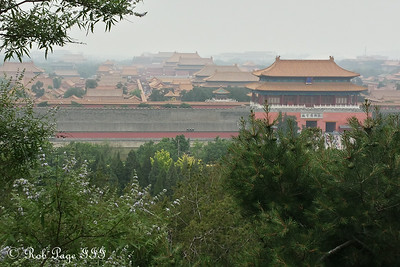 The Forbidden City from Jingshan Park - Beijing, China ... May 31, 2014 ... Photo by Rob Page III