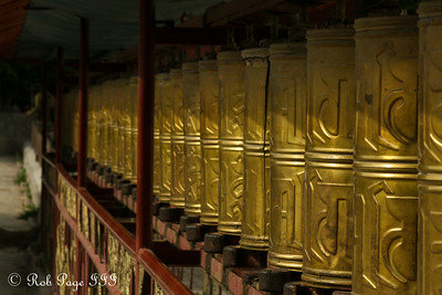 Prayer wheels outside the Palcho Monastery (Shekar Gyantse) - Gyantse, Tibet, China ... May 23, 2014 ... Photo by Rob Page III