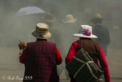 Pilgrims on the Barkhor Kora - Lhasa, Tibet, China ... May 21, 2014 ... Photo by Rob Page III