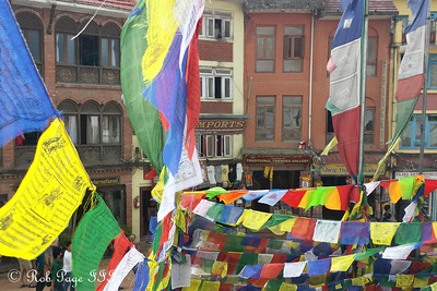 The shops around Bodhnath - Kathmandu, Nepal ... May 29, 2014 ... Photo by Rob Page III