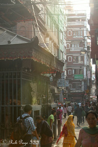 The streets around the Ugratara Temple - Kathmandu, Nepal ... May 28, 2014 ... Photo by Rob Page III