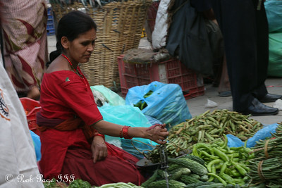 Selling produce in the Asan Tole - Kathmandu, Nepal ... May 28, 2014 ... Photo by Emily Page