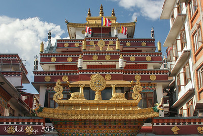A temple next to the Kathesimbhu Stupa - Kathmandu, Nepal ... May 28, 2014 ... Photo by Rob Page III