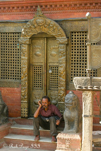 Hanging out at the Kathesimbhu Stupa - Kathmandu, Nepal ... May 28, 2014 ... Photo by Rob Page III
