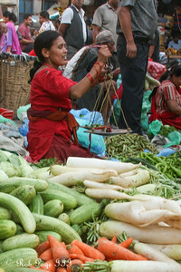 Produce for sale in the Asan Tole - Kathmandu, Nepal ... May 28, 2014 ... Photo by Emily Page