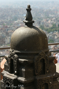 The view from Swayambhunath, the monkey temple - Kathmandu, Nepal ... May 29, 2014 ... Photo by Rob Page III