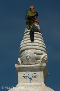 The top of the stupa at Swayambhunath, the monkey temple - Kathmandu, Nepal ... May 29, 2014 ... Photo by Rob Page III