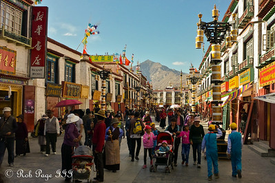 The Barkhor Kora in the Tibetan quarter - Lhasa, Tibet, China ... May 20, 2014 ... Photo by Rob Page III