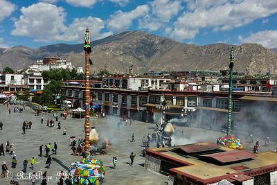 The square in front of the Jokhang Temple - Lhasa, Tibet, China ... May 21, 2014 ... Photo by Rob Page III
