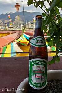 Enjoying a Lhasa Beer - Lhasa, Tibet, China ... May 20, 2014 ... Photo by Rob Page III