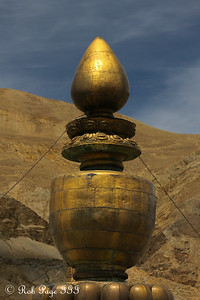 A spire at the Sakya Monastery - Shigatse, Tibet, China ... May 25, 2014 ... Photo by Rob Page III
