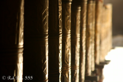 Prayer drums at Sakya Monastery - Shigatse, Tibet, China ... May 25, 2014 ... Photo by Rob Page III