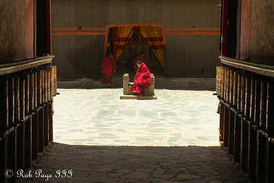 A monk at the Sakya Monastery - Shigatse, Tibet, China ... May 25, 2014 ... Photo by Rob Page III