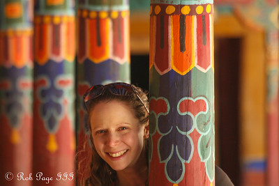 Emily at the Sakya Monastery - Shigatse, Tibet, China ... May 25, 2014 ... Photo by Rob Page III