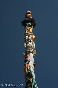 Prayer pole at the Shalu Monastery - Shigatse, Tibet, China ... May 24, 2014 ... Photo by Rob Page III