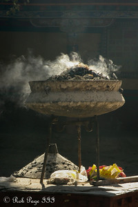Incense burning at the Shalu Monastery - Shigatse, Tibet, China ... May 24, 2014 ... Photo by Rob Page III
