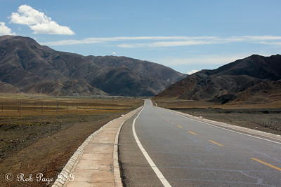 Along Route 318 - Shigatse, Tibet, China ... May 25, 2014 ... Photo by Rob Page III