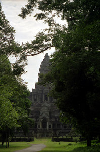 The backside (east) of Angkor Wat. ... August 14, 2004 ... Copyright Robert Page III