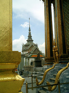 An image of Wat Phra Kaew. ... August 17, 2004 ... Copyright Robert Page III