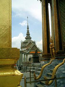 An image of Wat Phra Kaew. ... August 17, 2004 ... Copyright Robert Page III