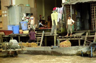 Life along the Mekong Delta. ... August 13, 2004 ... Copyright Robert Page III