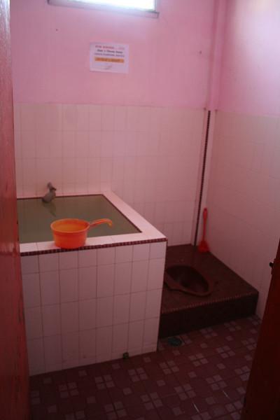 My bathroom and latrine.