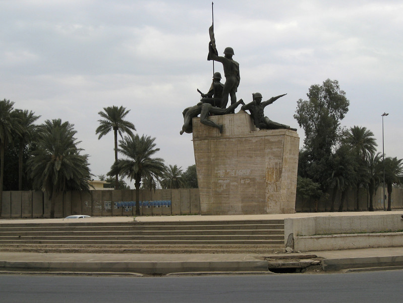Saddam liked his statues