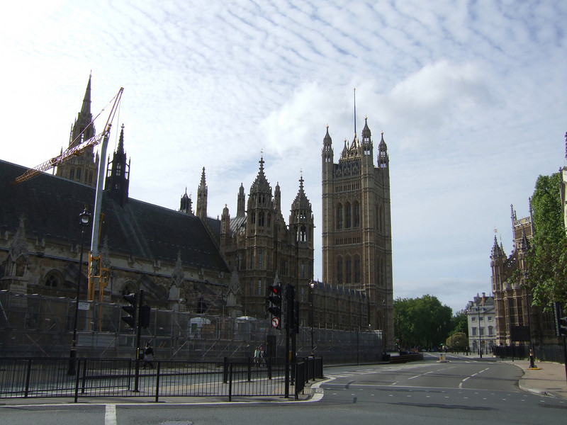 House of Parliament - London Waterfront