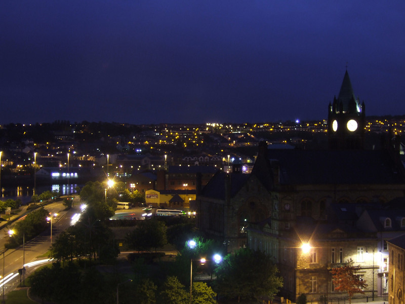 Derry at Night