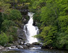 Waterfall on Loch Lomond