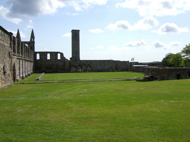 Ruins in Saint Andrews