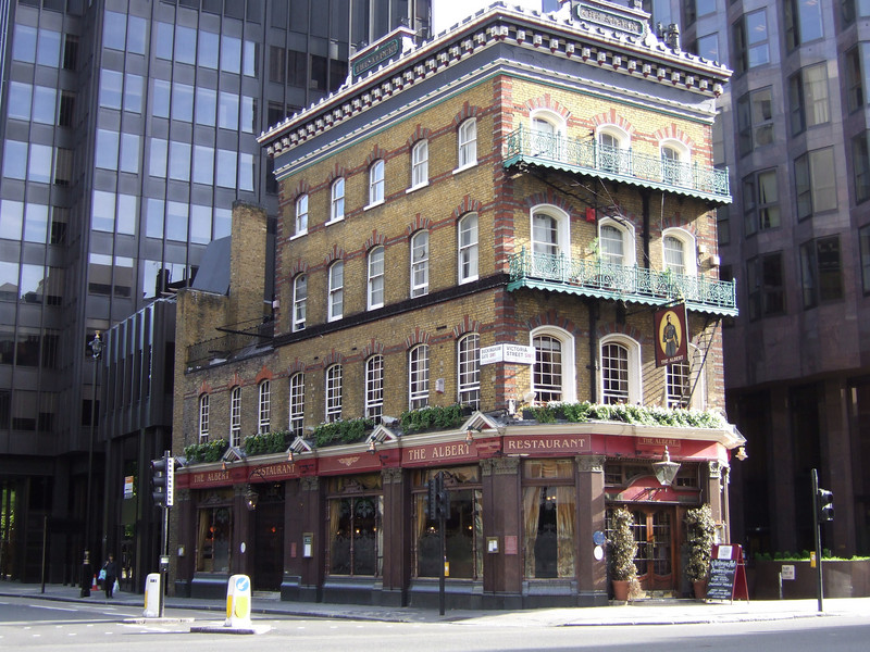 The Albert Restaurant in London
