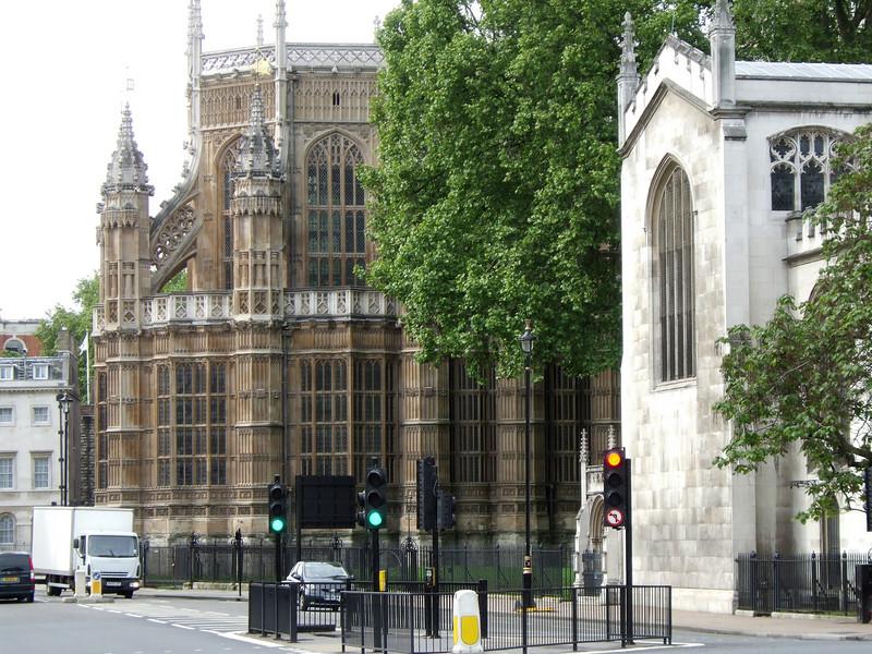 Parliament from Trafalgar Square