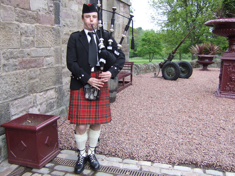 At Edinburgh Castle