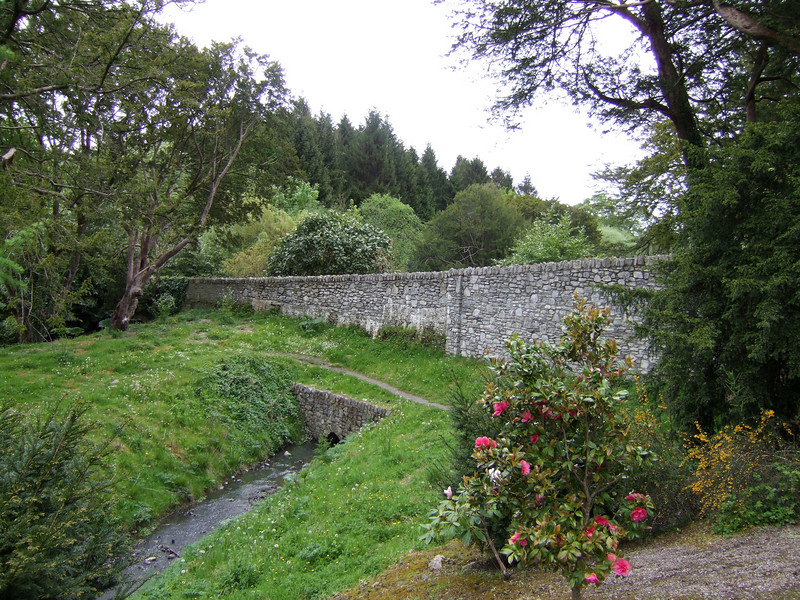 Wall at Blarney Castle Grounds