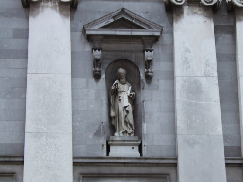 Statue on a Church in Waterford