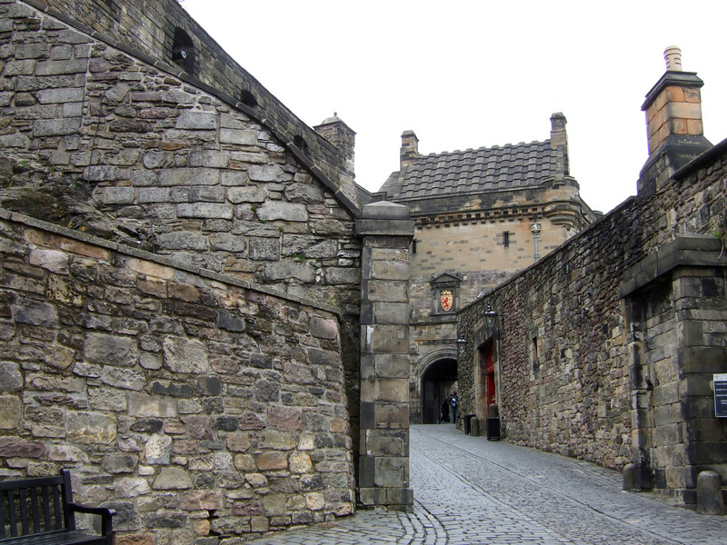 Entrance to Edingurgh Castle