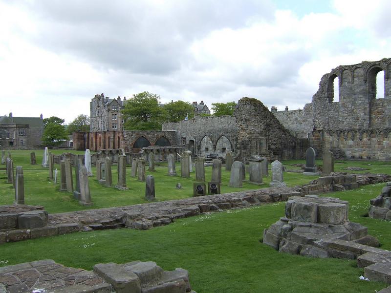 Ruins in Saint Andrews