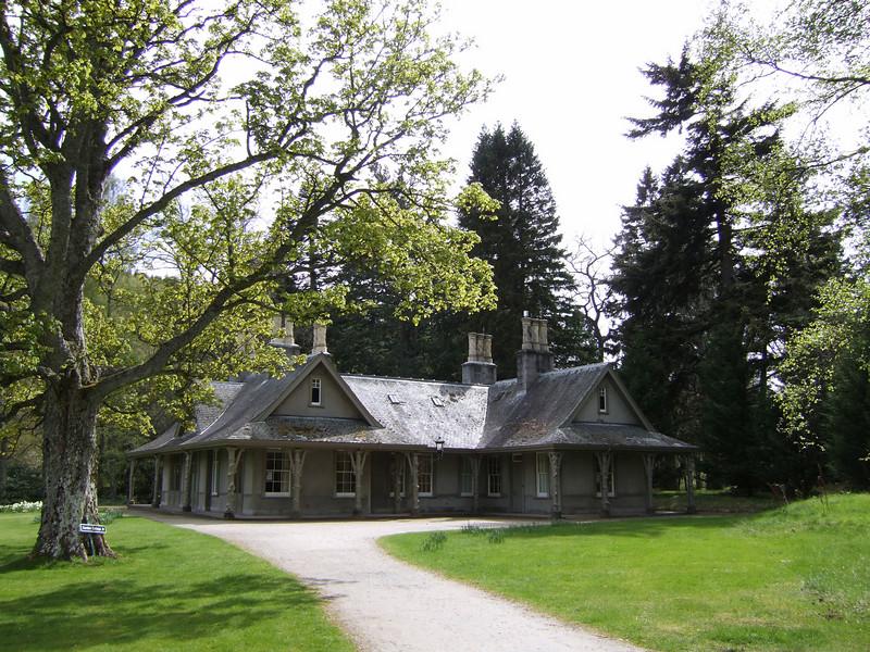 Balmoral Castle Garden Building on Grounds