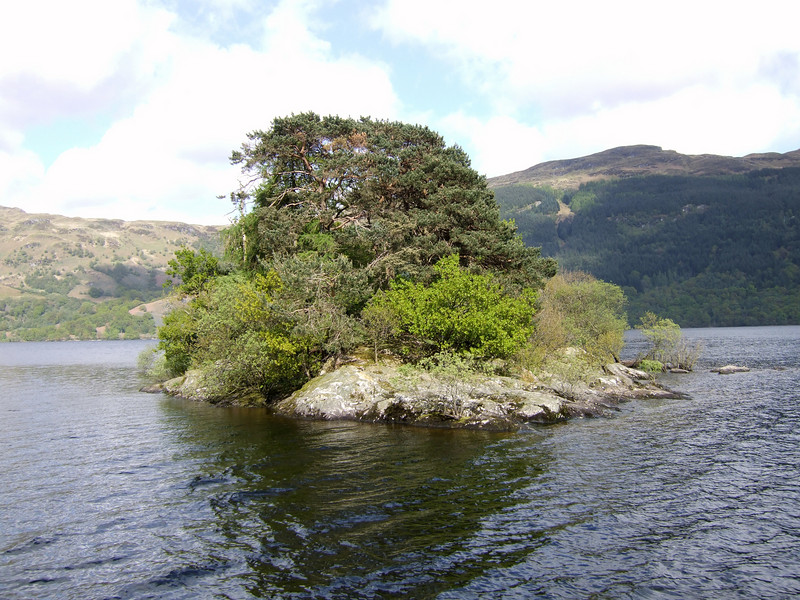 Island on Loch Lomond