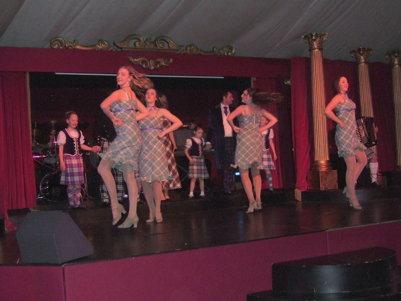 Dancers at the Scottish Dinner Party