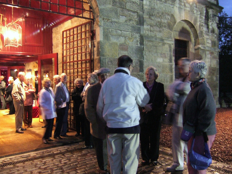Leaving the Dinner Party - Edinburgh