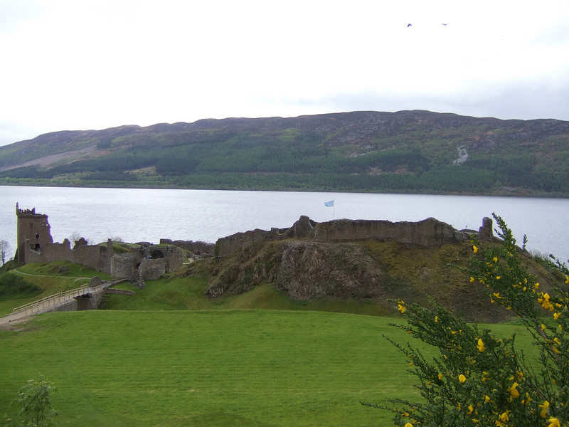 Ruins on Loch Lomond
